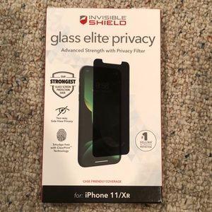 ZAGG Glass Elite Privacy Screen Protector